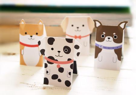マグネットブックマーカー「しおり犬」part3