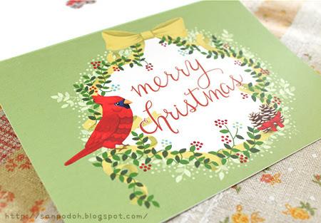 2011年のクリスマスカード
